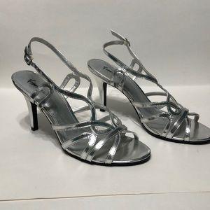 Silver Fioni Night high heel shoes